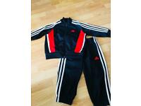 Adidas boys tracksuit 2-3 years