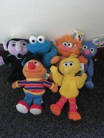 Muppets plushies