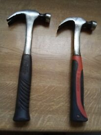 hammers x 2 solid shaft claw