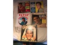 Job Lot 5 Elvis lps some rare