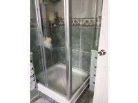 Corner Shower enclosure used