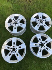Mercedes Ml 18inch alloys in mint condition