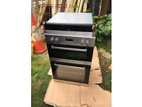 Double oven and plate warmer