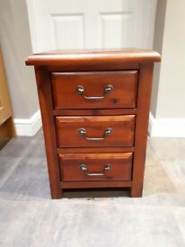 Wooden Small Chest of Drawers - Bedside Cabinet