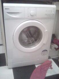 Immaculate beko washing machine