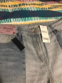 Next Tall Relaxed Jeans BNWT