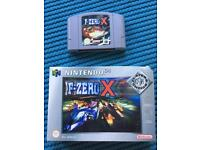 F-Zero X N64 game, boxed, no manual