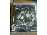 Ps3 game. HUNTED .THE DEMONS FORGE