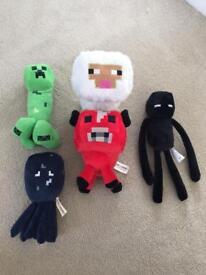 Mine craft Plushies