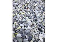 20 mm Grampian marble garden and driveway chips/ stones/ gravel