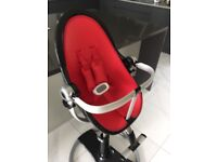 Bloom Fresco Chrome - Red Seat Pad Set