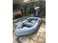 Inflatable boat 7.5hp engine