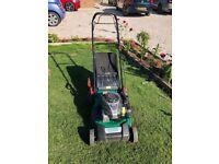 petrol lawnmower 125cc qualcast