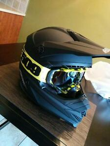 Casque mx dot pour la route ultra light noir mat