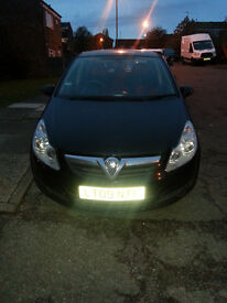 "Vauxhall Corsa D 1.0i | 2009 | 1 owner | Black | V.Good cond.| 2 keys | 15"" Alloys | Radio/CD/mp3"