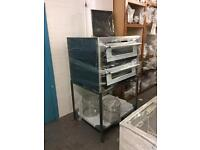 Pizza oven with stand