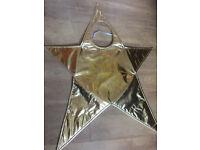Child Unisex Gold Star Nativity Costume