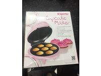 FREE DELIVERY NEW BOXED ELGENTO PINK CUPCAKE MAKER BAKE A CAKE KITCHEN GADGET NO MESS PERFECT RESULT
