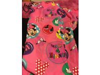 Minnie Mouse curtains
