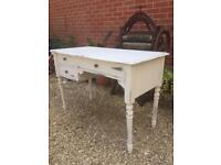 Shabby Chic side table/dressing table/desk