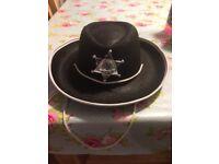 Childrens sheriff hat