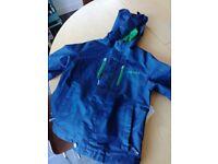 Trollkids blue jacket age 5 to 6