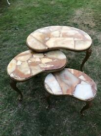 Vintage retro nest of tables