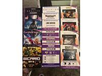 Ultraviolet movie codes. 14 codes