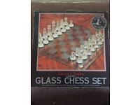 Arbroath and Turnbury Glass Chess Set