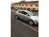 57 plate vauxhall corsa 1.2 petrol manual 2 previous owner