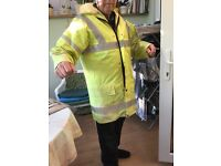 High Visibility Jacket with detachable vest