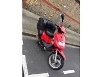 TGB 125cc Delivery Scooter, 150L integrated secure back box, lots of safe storage