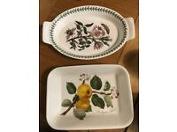 Portmeirion serving or oven dishes