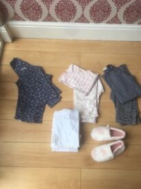 Girls bundle of clothes 9.10years