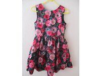 H & M Girls Floral Dress