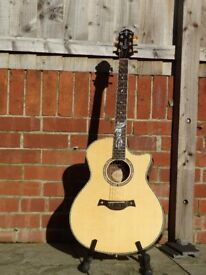 Crafter FK-Rose electro-acoustic guitar