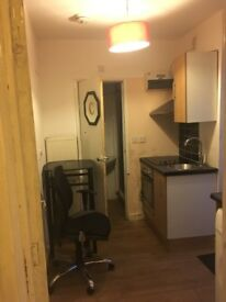 decent flat available for singles