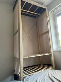 Free Wooden canvas wardrobe