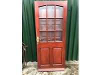 Solid Mahogany External Door