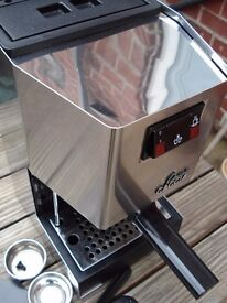 Gaggia Classic espresso machine excellent condition little used+ Grinder if needed possible postage