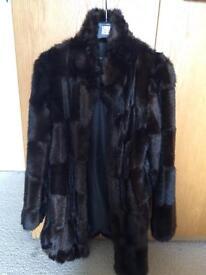 ASOS fake fur coat