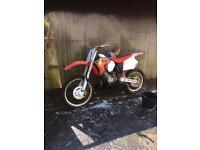 Honda cr 125 evo