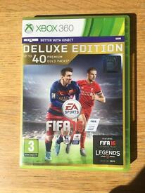 X Box 360 FIFA 16 Game