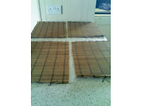 4 Bamboo Place Mats. Good condition. As new 30cm x 40cm approx