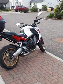 Honda CB 650 HRC colours