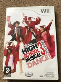 High School Musical Wii Game