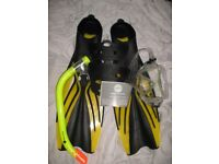 Hot Tuna Mask Snorkel Fins ID 92/9/17