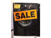 SERVIS 7KG DIGITAL SCREEN WASHING MACHIEN IN BLACK