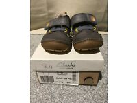 Boys Clarks Casual First Shoes - Softly Sid - Size 4.5 G
