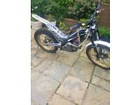 2011 sherco 290 trials bike with s3 kit